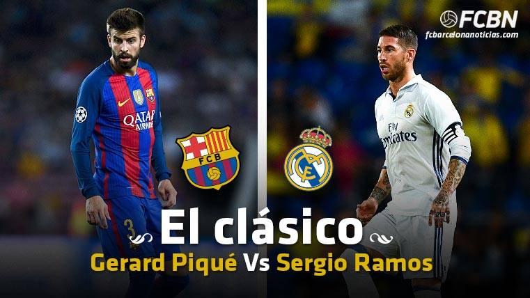 LOS DUELOS: Gerard Piqué vs Sergio Ramos, los referentes defensivos