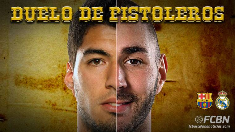 LOS DUELOS: Luis Suárez vs Benzema, duelo de pistoleros
