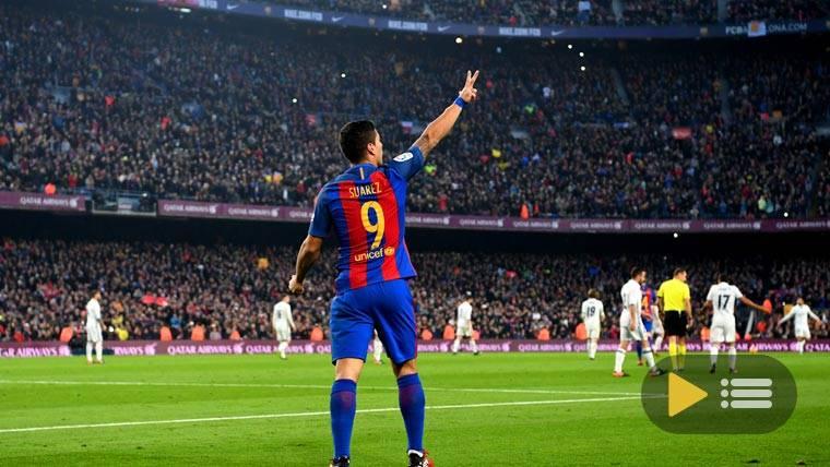 Vídeo resumen: FC Barcelona 1 Real Madrid 1 (Liga J14)