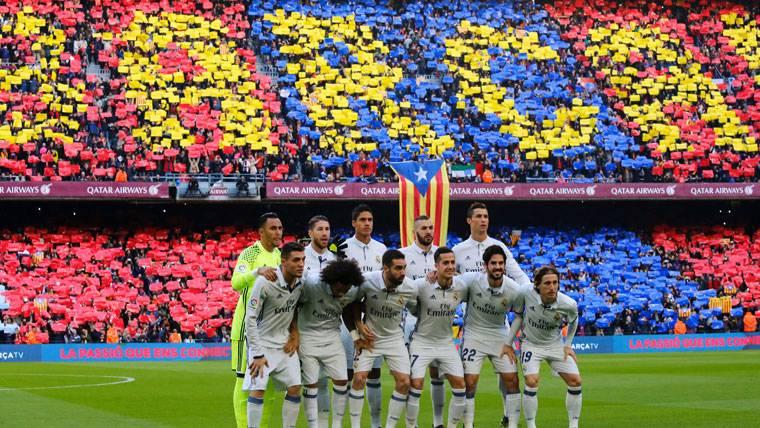 La excusa de Dani Carvajal tras la peineta al Camp Nou