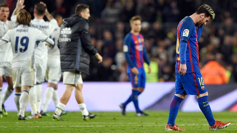 Preocupante estadística de Messi en los últimos Clásicos