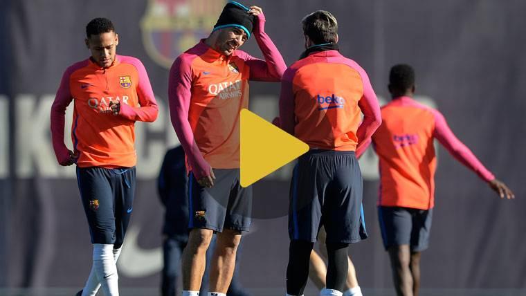 El Barça se recupera y prepara ya el partido de Champions