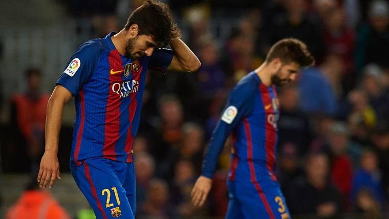 A la afición del Barça se le acaba la paciencia con André Gomes