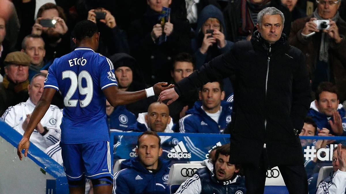 """""""Zascas"""" de Eto'o a Mourinho... Y elogios a Guardiola"""