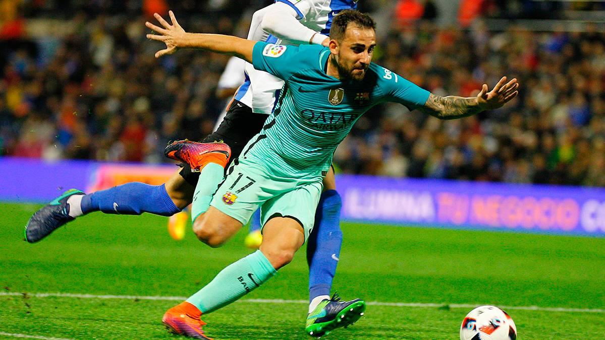"""Paco Alcácer apunta a una """"doble titularidad"""" con el Barça"""