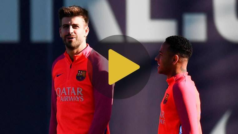 ALARMA: El Barça se entrena sin Gerard Piqué ni Neymar