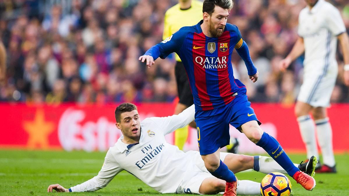 Leo Messi, titular ante el Gladbach y a por el récord
