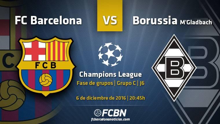 Barça-Gladbach: Un trámite por aprovechar en Champions