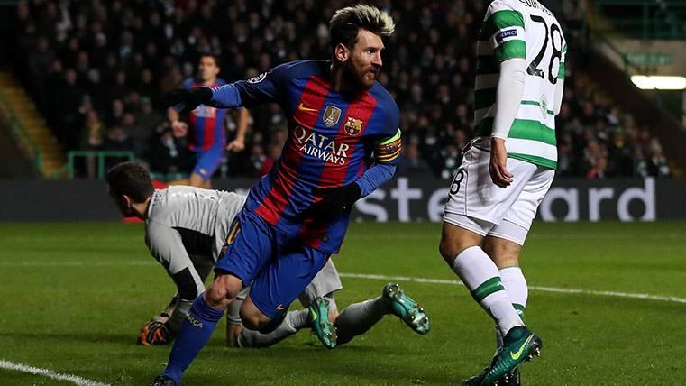 Ante el Gladbach, la noche de los récords de Leo Messi