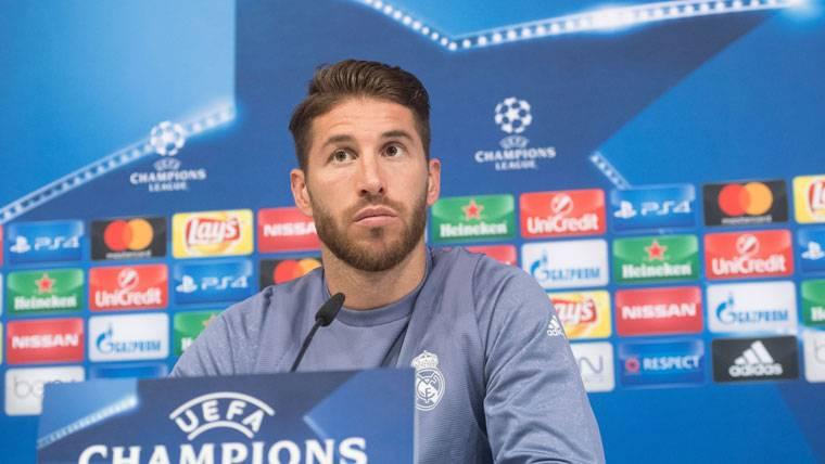 Las razones de Ramos para no alardear del empate ante el Barça