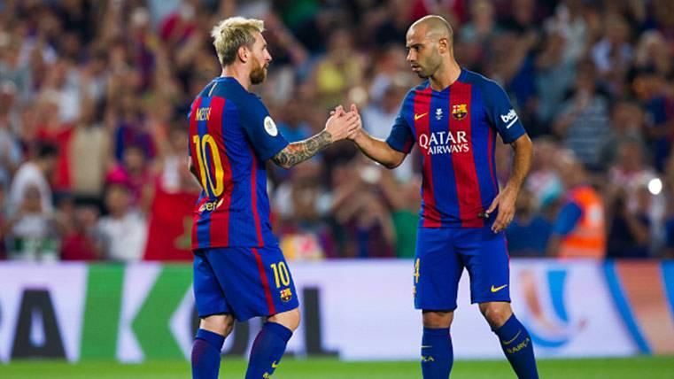Leo Messi y Mascherano hacen historia con el FC Barcelona