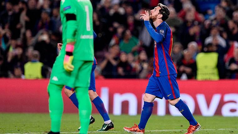 Leo Messi, cerca de cazar a Cristiano Ronaldo en Champions