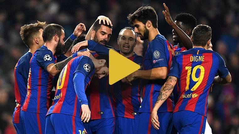 Vídeo resumen: FC Barcelona 4 Borussia 0 (Champions)