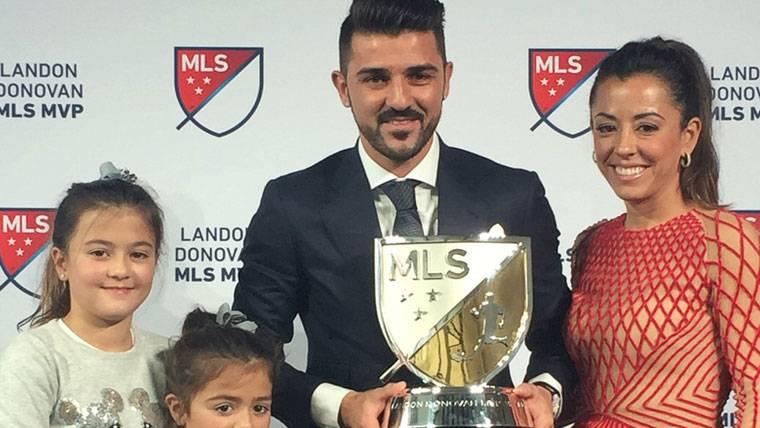 """David Villa deja huella en Estados Unidos: """"MVP"""" de la MLS"""