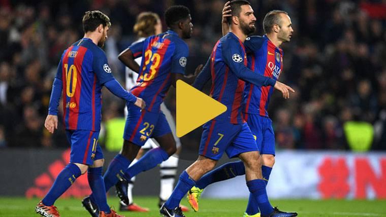 """Reacciones de los """"cracks"""" del Barça tras el duelo de Champions"""