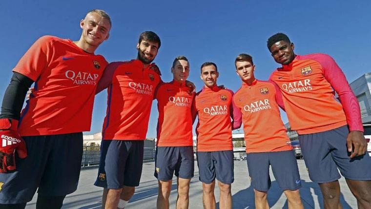 Los 6 fichajes del Barcelona ya saben lo que es jugar juntos