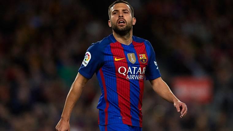 El PSG vendrá para llevarse a Jordi Alba del FC Barcelona