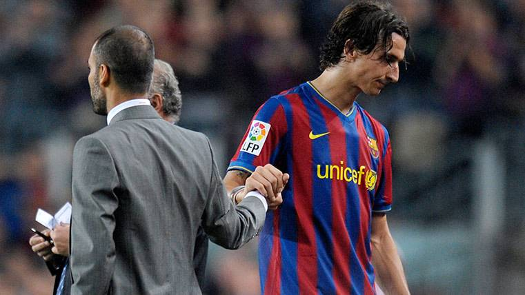 """Ibrahimovic """"vaciló"""" a Guardiola con un Ferrari en el Barça"""