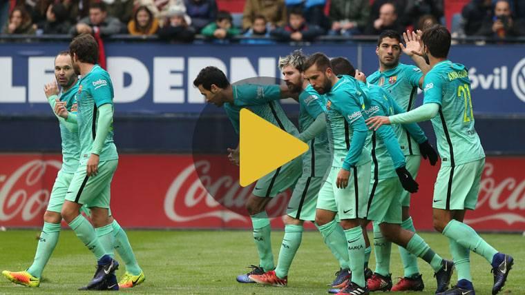 Vídeo Resumen: Osasuna 0 FC Barcelona 3 (Liga J15)