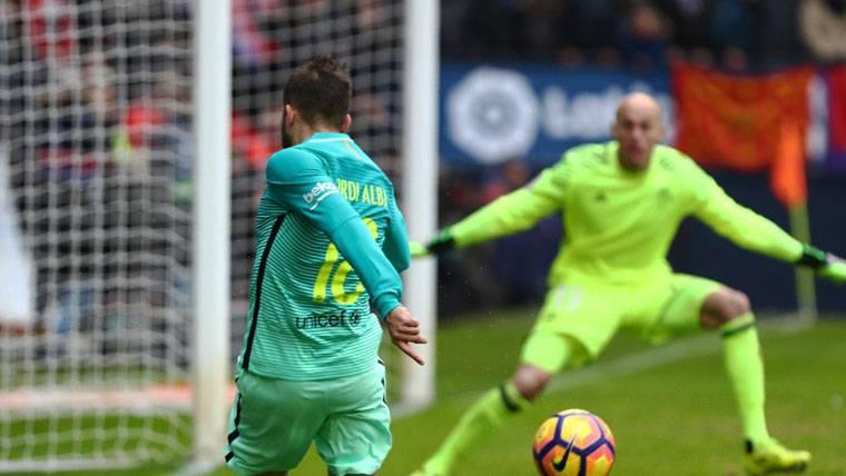 """Jordi Alba también se marcó un """"doblete""""... ¡De asistencias!"""