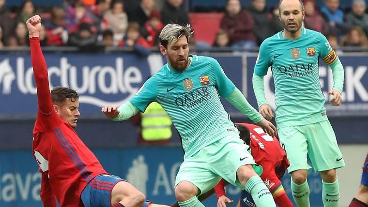 LEYENDA: Messi volvió a hacer historia con el FC Barcelona