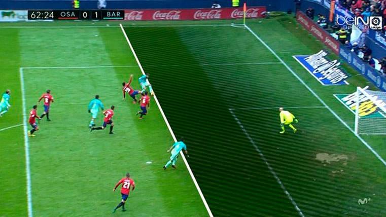 El gol de Luis Suárez fue en posición reglamentaria