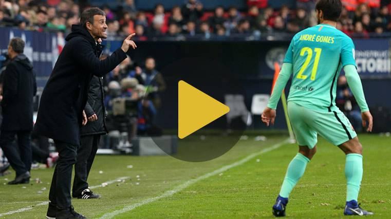 """Luis Enrique: """"Buscamosmejorar para presionar al Madrid"""""""