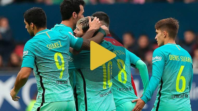 """Los cracks del Barça coinciden: """"Este es el camino a seguir"""""""