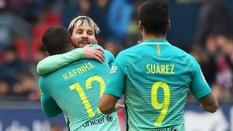 """Messi ya aparece en el """"Top 10"""" de la lucha por la Bota de Oro"""