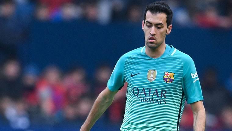 El efecto Busquets se nota en la portería del FC Barcelona