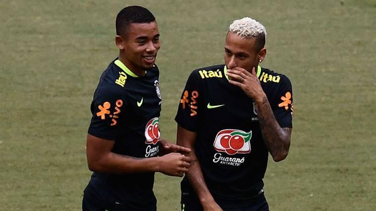 El día que Neymar quiso traer a Gabriel Jesús a Barcelona