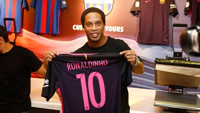 La afectuosa felicitación de Ronaldinho a Cristiano Ronaldo