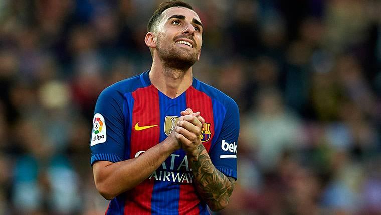 """Paco Alcácer confiesa estar """"liberado"""" tras su gol con el Barça"""