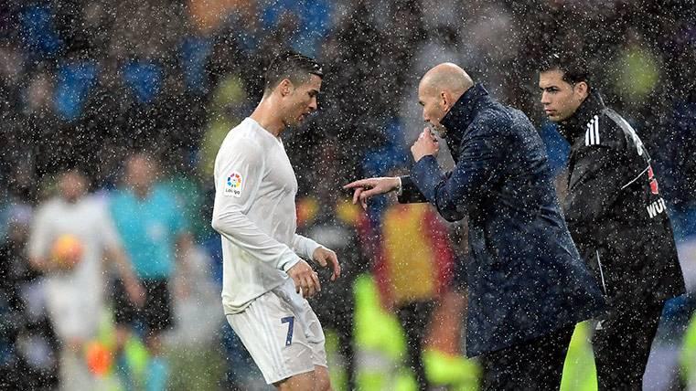 Lo que piensa Zidane del Balón de Oro de Cristiano Ronaldo