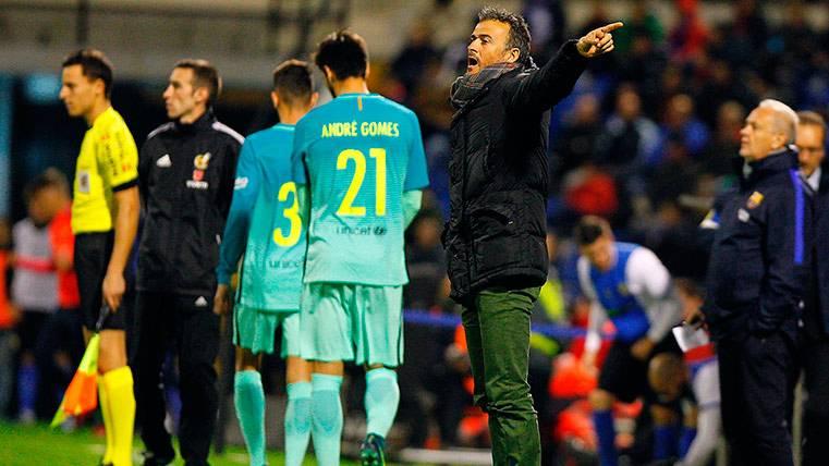 Luis Enrique tiene dos grandes dilemas en su XI ante el Espanyol
