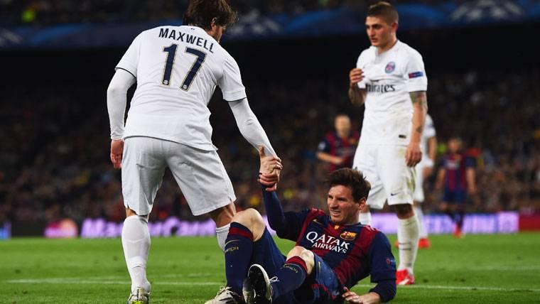 Maxwell se retira a lo grande ganando la Copa francesa