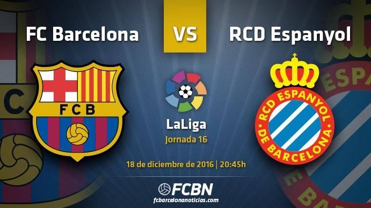 Barça-Espanyol:La MSN se pone traje para el derbi más igualado