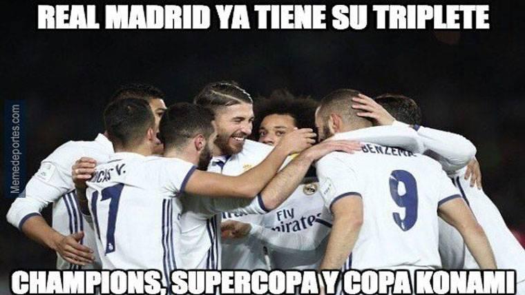 """Estos son los mejores """"memes"""" del Real Madrid-Kashima"""