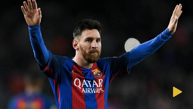 GENIO: La jugada con la que Messi ridiculiza al Balón de Oro