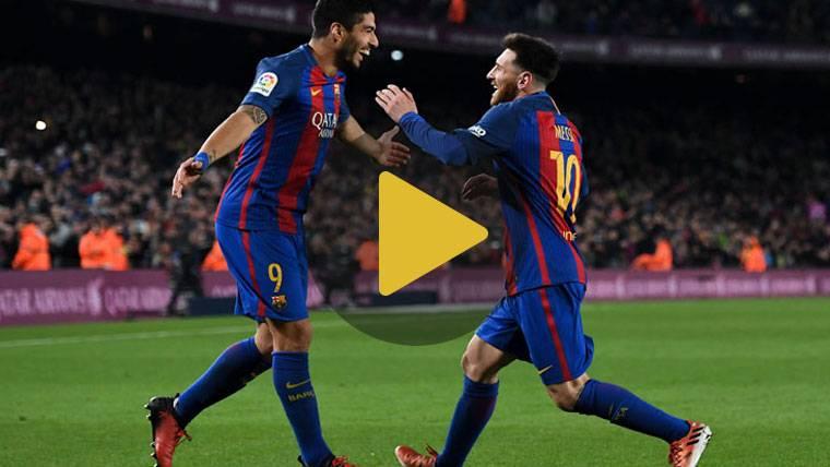 """Admiración de Suárez: """"Messi hizo una jugada de Playstation"""""""
