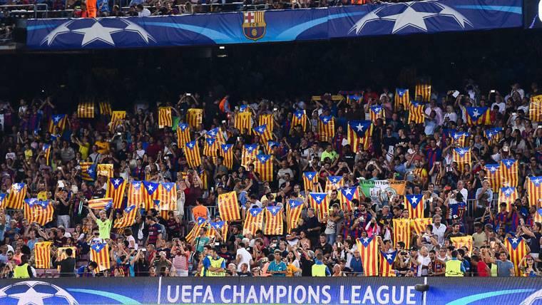 El Barça llega a un pacto con la UEFA por las esteladas