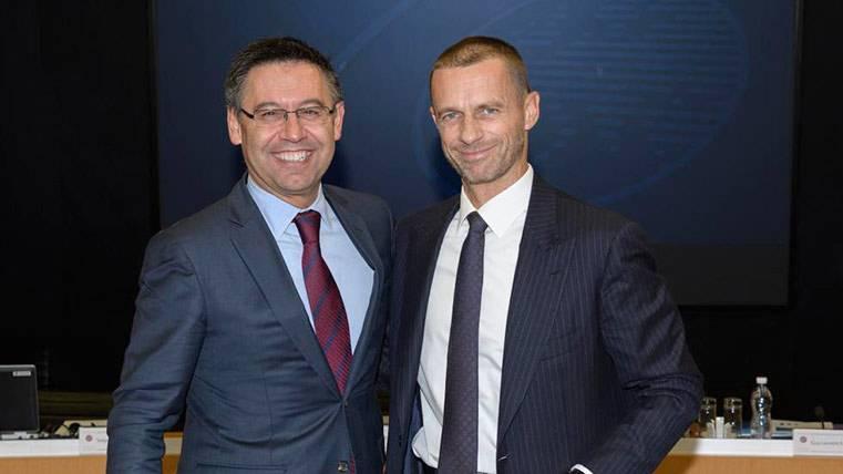 Bartomeu pactó personalmente con la UEFA por las estelades