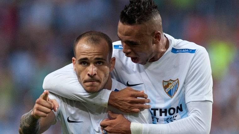 Sandro explota en el Málaga tras desvincularse del Barça