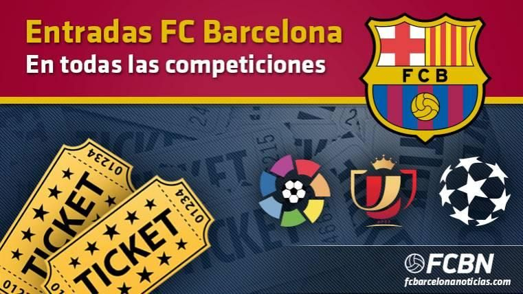 FC Barcelona - Entradas temporada 2018-2019