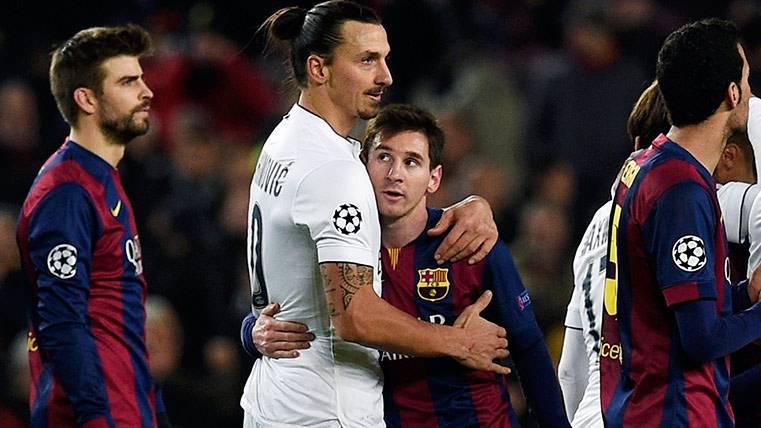 Las palabras de Ibrahimovic sobre Messi serían falsas