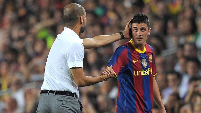 David Villa también sale a la defensa de Pep Guardiola
