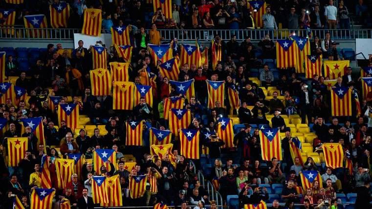 """Lo prometido por el Barça a la UEFA por el """"caso estelades"""""""