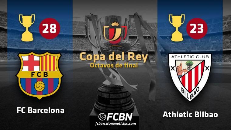 FC Barcelona y Athletic de Bilbao mandan en Copa de Rey