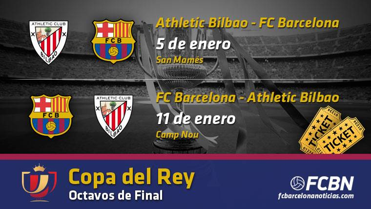 Entradas FC Barcelona vs Athletic Bilbao - Copa