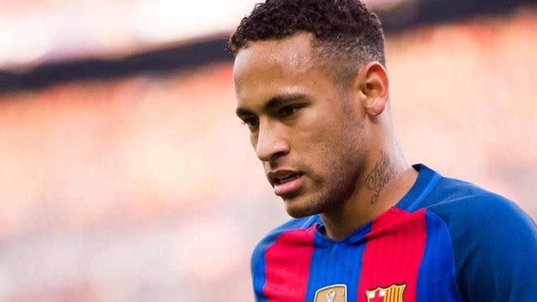 Neymar Jr, durante un partido esta temporada con el FC Barcelona